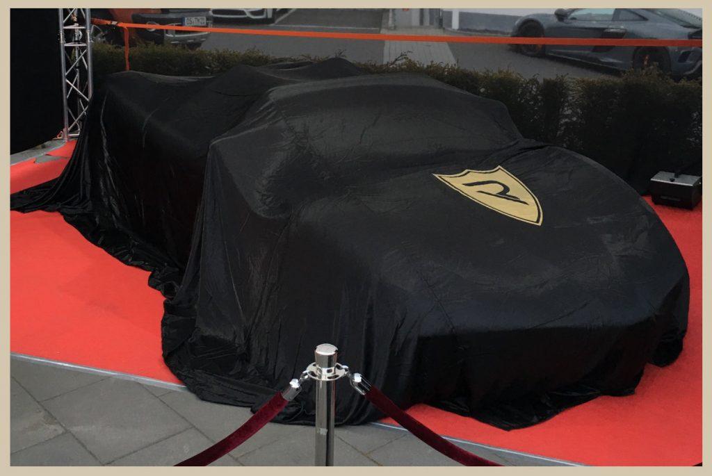 Sports car EVENT adaccio