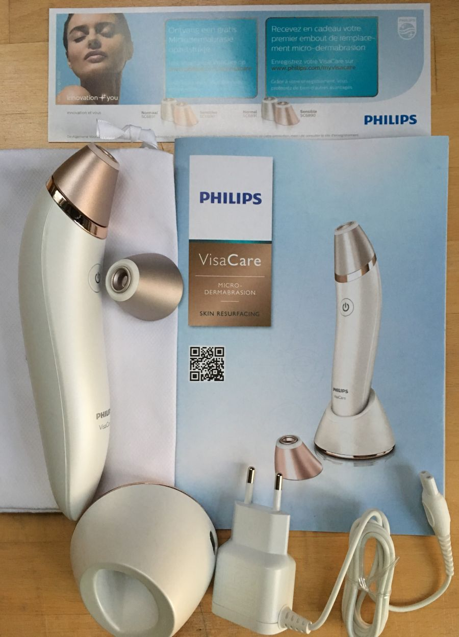 Philips VisaCare Lieferumfang