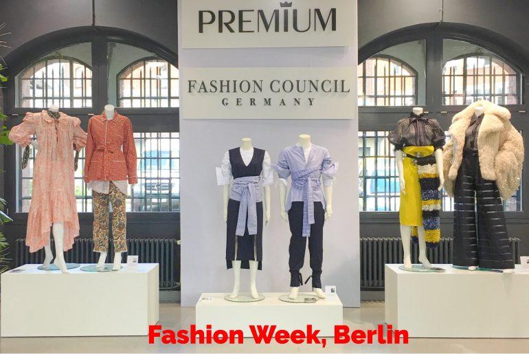 Fashion Week, Berlin.