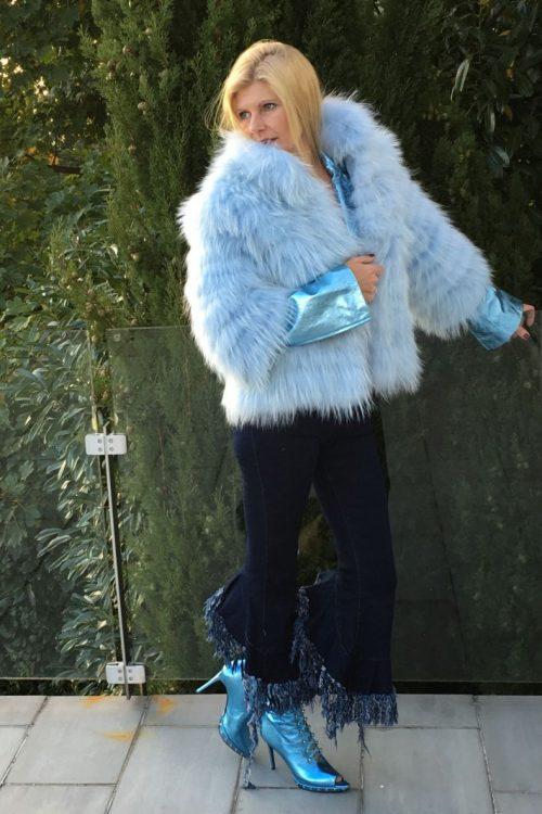 Blau verlockt...