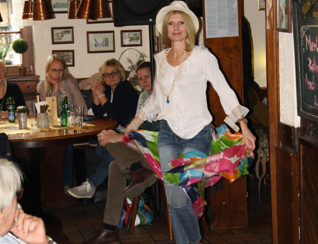Renate Zott Oberrad goes fashion