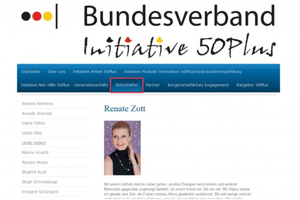 Bundesverband Initiative 50Plus, Bestzeit Plus, Demografie, Rente