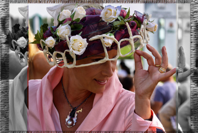 Sophisticated headress – a fashionable trump card !
