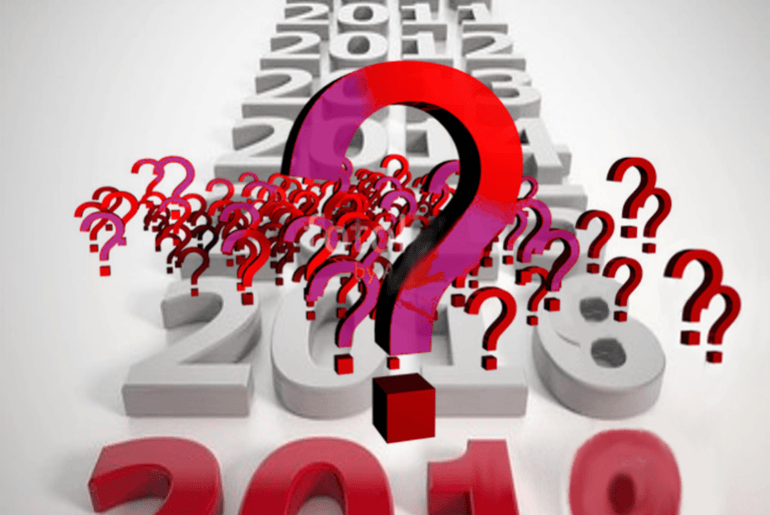 Chasing central Questions for 2019?