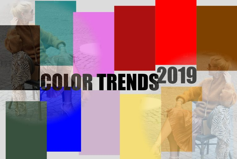 Color trends for A/W 2019!
