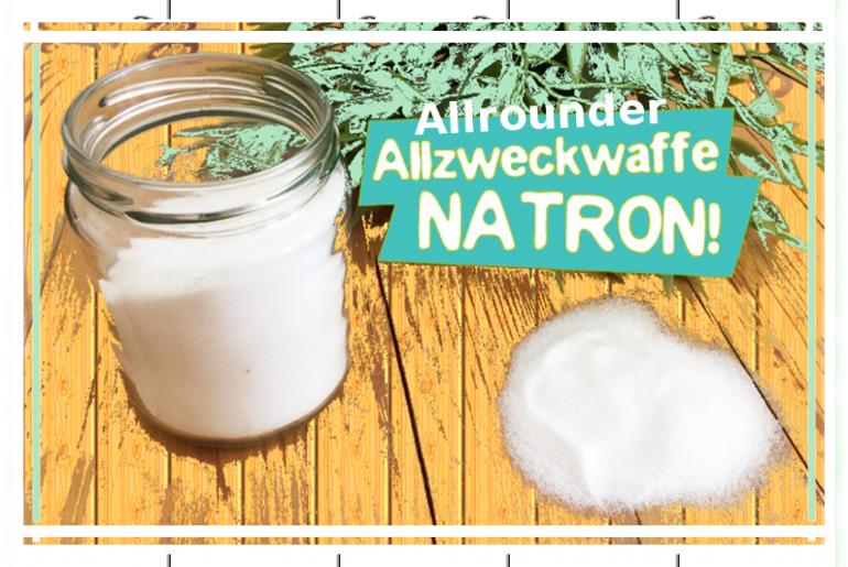 Natron/ soda – one powder, many applications