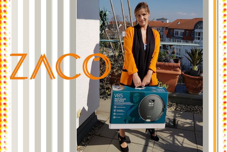A ZACO keeps your household on track … watch out for orange
