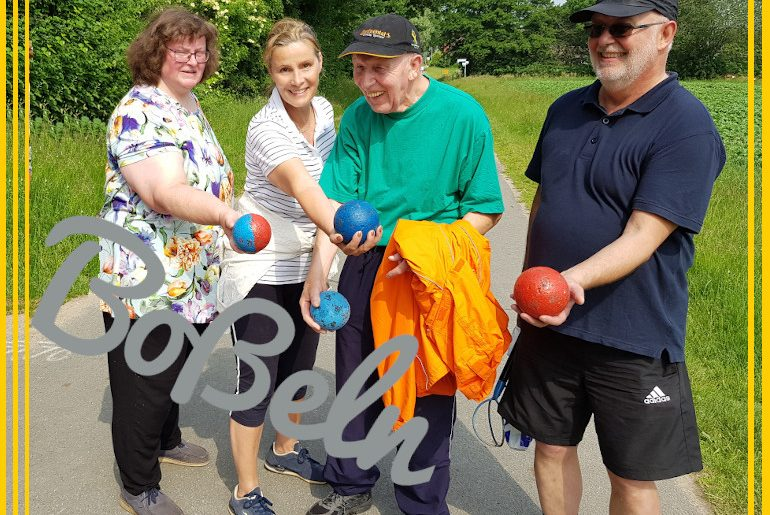 """""""Bossling"""" what ever it takes – push and roll on the ball"""