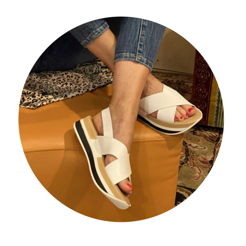 Sommerschuhe Wedges